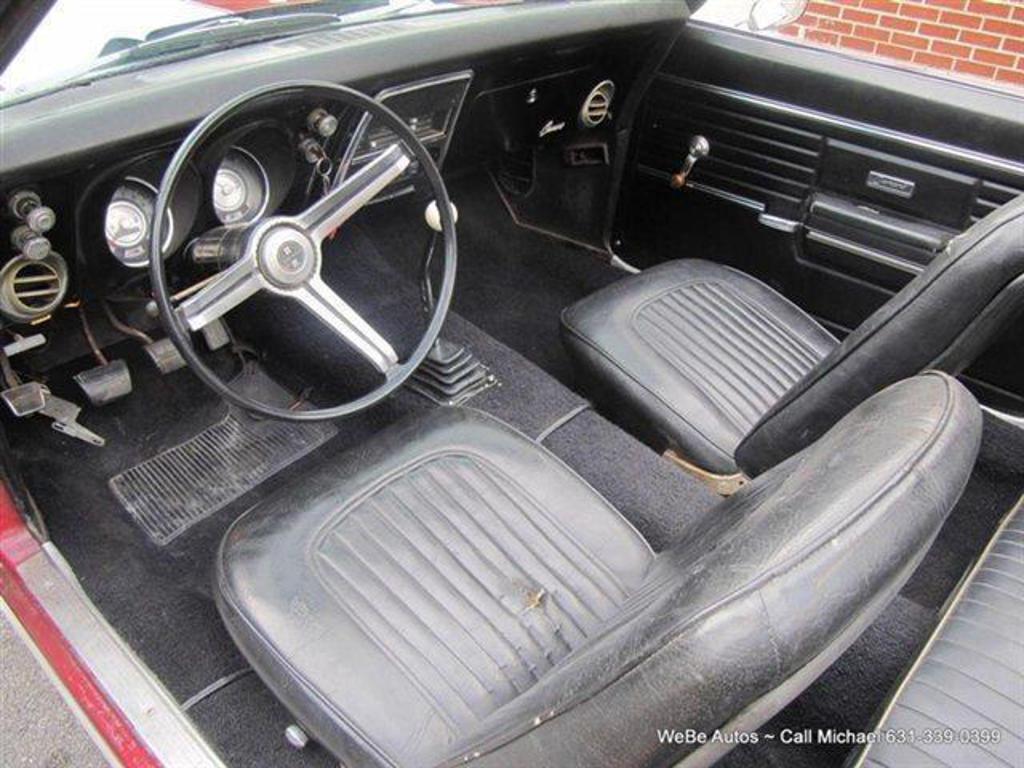 1968 chevrolet camaro riverhead ny us 76240 miles 19 vin number 123678n356837. Black Bedroom Furniture Sets. Home Design Ideas