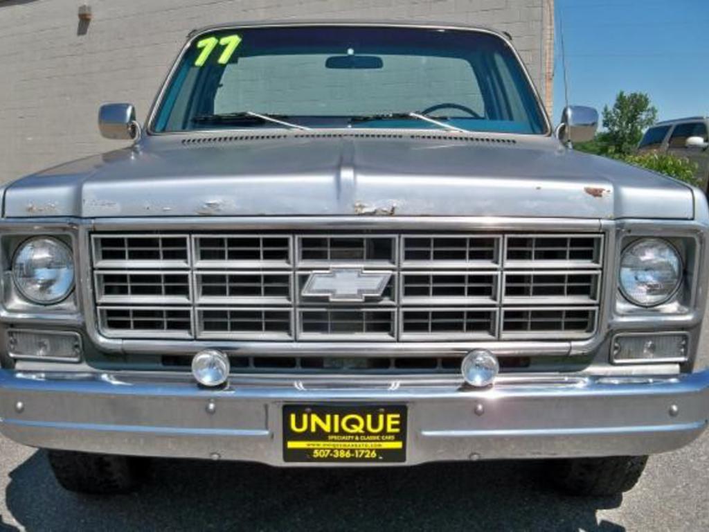 1977 Chevrolet C10 Mankato Mn Us 1 Miles 3