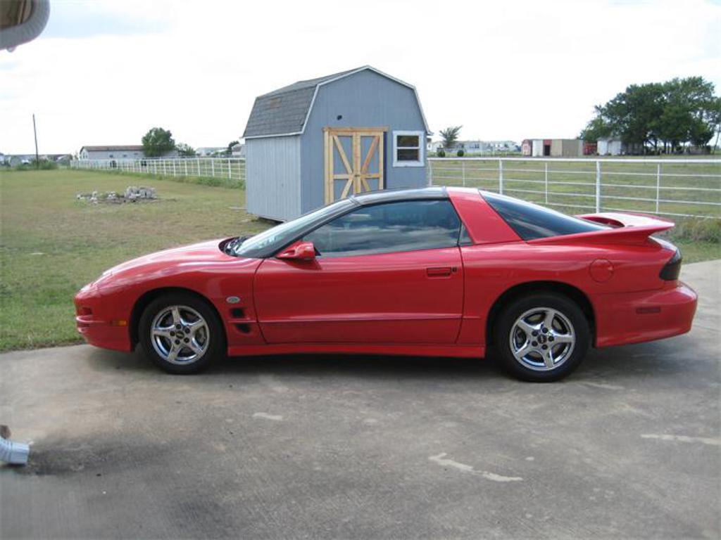 2002 Pontiac Firebird Trans Am Red Oak Lancaster Tx United States 9 Muscle Pony