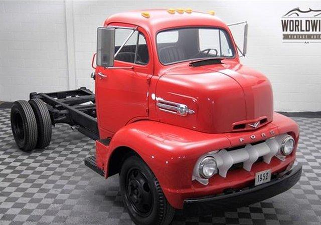 1952 Ford COE, Denver, CO United States, $17,000 00, Vin