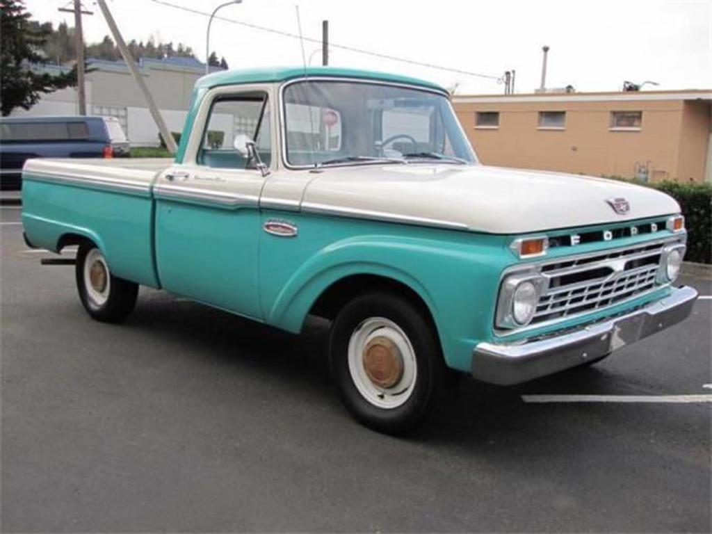 1965 Ford F100 Renton Wa United States 13 900 00