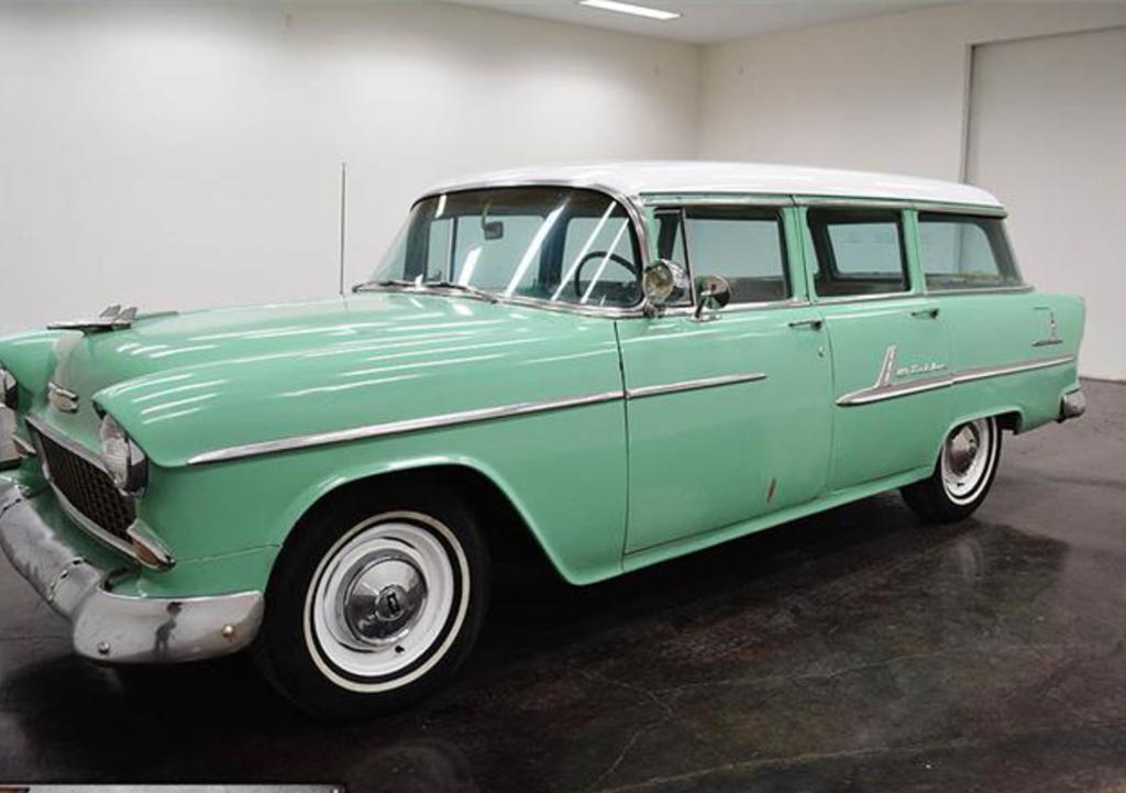 1955 Chevrolet Bel Air Wagon Sherman Tx United States