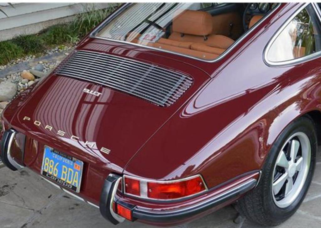 1970 porsche 911 scotts valley ca united states vin number 9110122718 stock number 4891. Black Bedroom Furniture Sets. Home Design Ideas