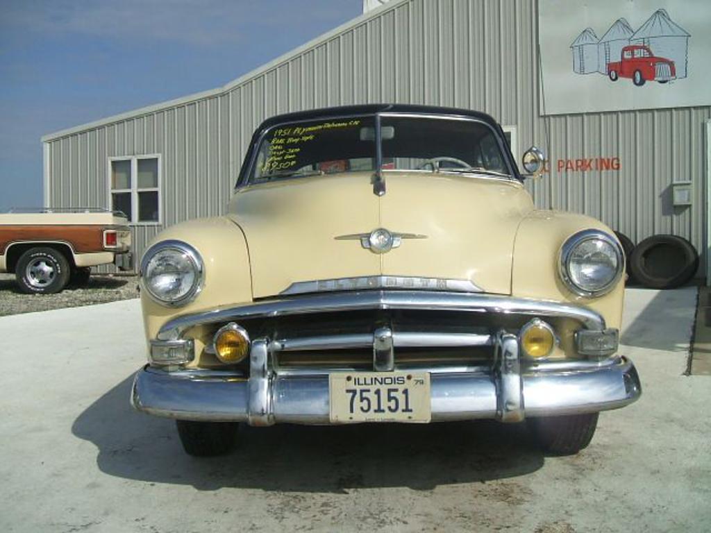 Seller Car >> 1951 Plymouth Belvedere, STAUNTON, IL US