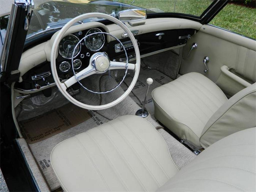 1955 mercedes benz 190sl pompano fl united states vin number 1210425500559 roadster. Black Bedroom Furniture Sets. Home Design Ideas