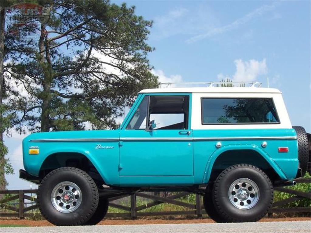 1970 Ford Bronco Alpharetta Ga United States 3950000 Vin Full Size Photo